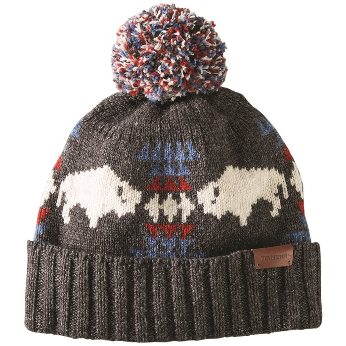 Pendleton - Jacquard Pom Pom Hat