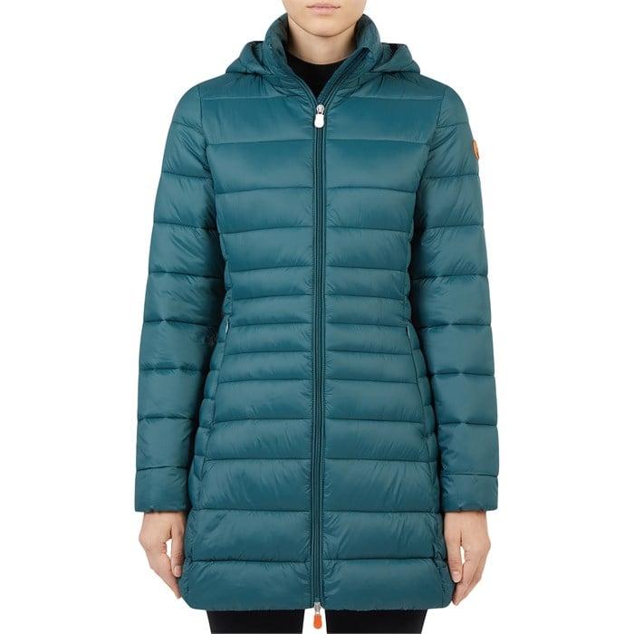 Save the Duck - Giga Long Hood Jacket - Women's