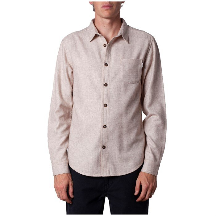 Rhythm - Wool Long-Sleeve Shirt