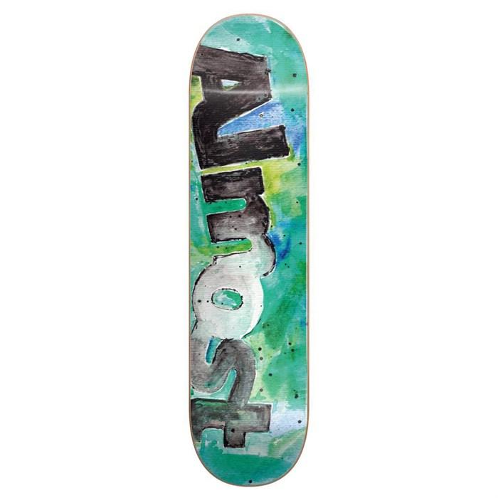 Almost - Color Bleed HYB Teal 8.0 Skateboard Deck
