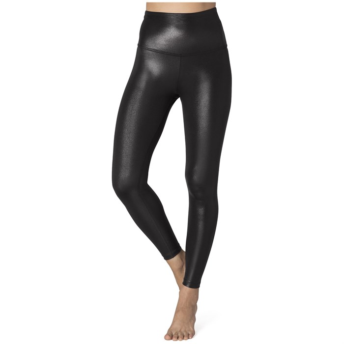 Beyond Yoga - Pearlized High-Waisted Midi Leggings - Women's