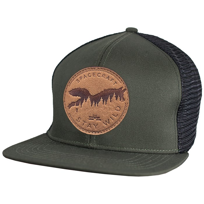Spacecraft - Wild Flat Brim Trucker Hat
