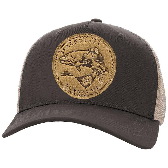 Spacecraft - Wild Curved Brim Trucker Hat