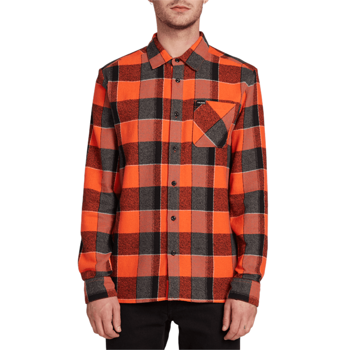 Volcom - Neo Glitch Long-Sleeve Flannel Shirt