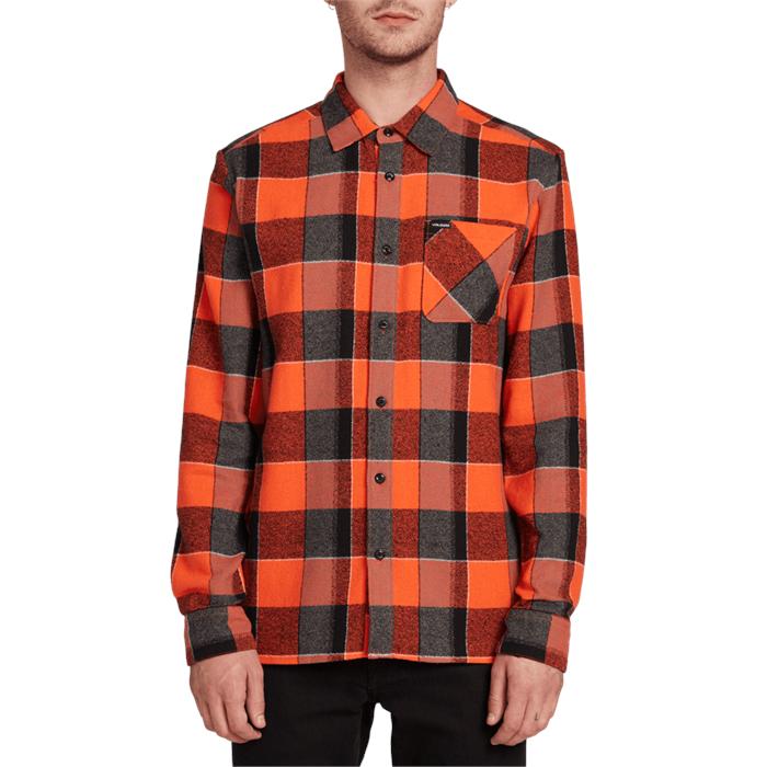 Volcom - Neo Glitch Long-Sleeve Flannel Shirt