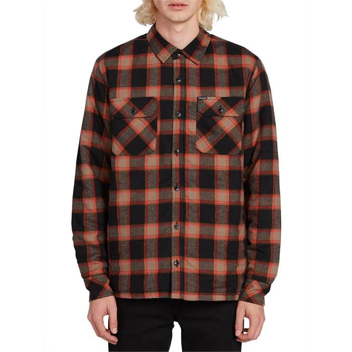 Volcom - Belgrade Long-Sleeve Flannel Shirt