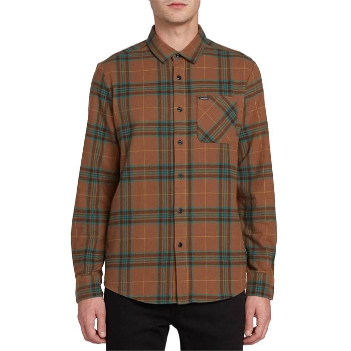 Volcom - Caden Plaid Long-Sleeve Flannel Shirt