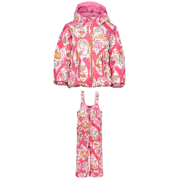 Obermeyer - Cakewalk Jacket + Obermeyer Snoverall Printed Pants - Little Girls'