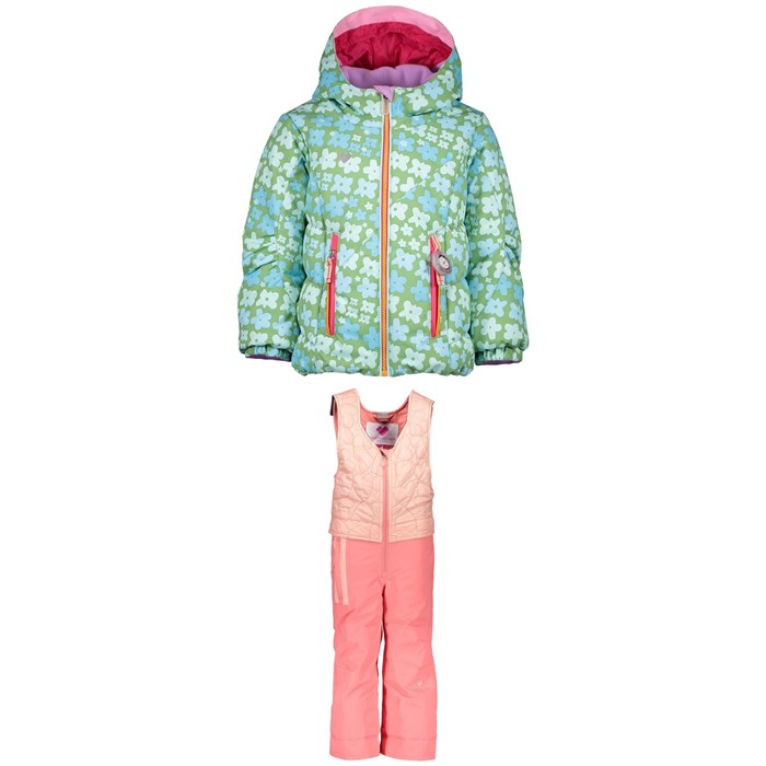 Obermeyer - Cakewalk Jacket - Little Girls' + Obermeyer Ober-All Bibs - Little Girls'