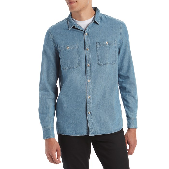 Banks - Shadow Long-Sleeve Chambray Shirt