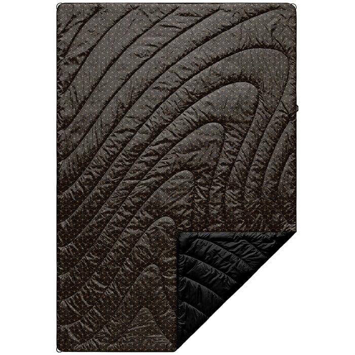 Rumpl - Original Puffy Blanket - Black & Gold