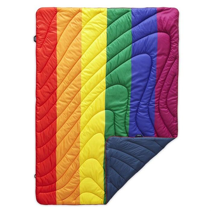 Rumpl - Original Puffy Blanket - Pride Flag