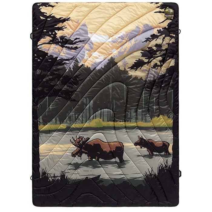 Rumpl - Original Puffy Blanket - Rocky Mountains