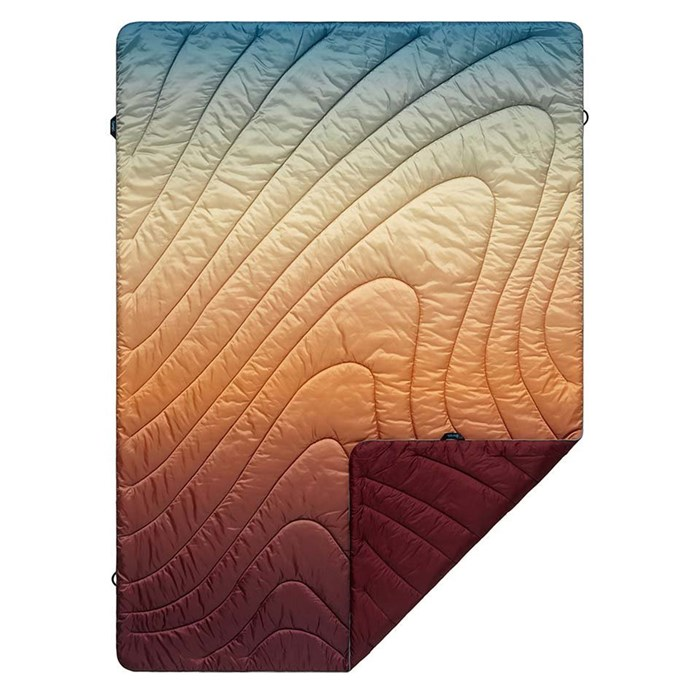 Rumpl - Original Puffy Blanket - Deep Playa Fade