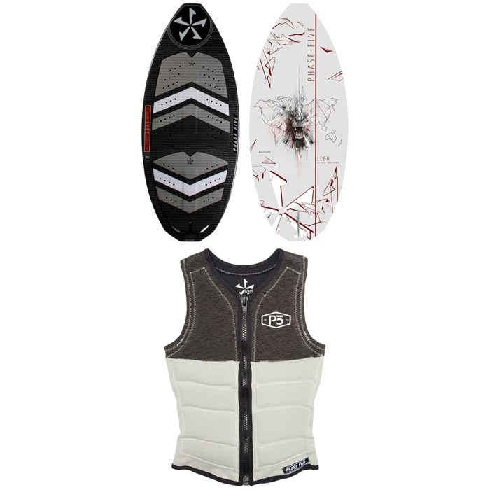 Phase Five - LEEO Wakesurf Board + Ladies Pro Wakesurf Vest - Women's