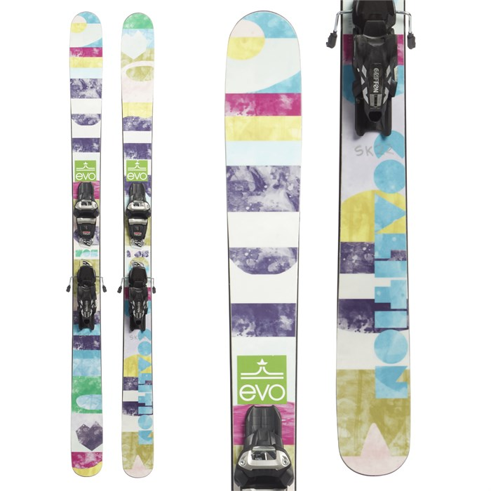 Coalition Snow - SOS Skis + Marker Griffon Demo Bindings - Women's 2019 - Used