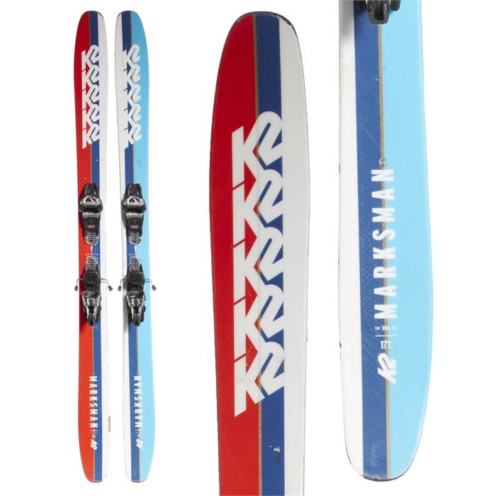 K2 Marksman Skis + Marker Griffon Demo Bindings 2019