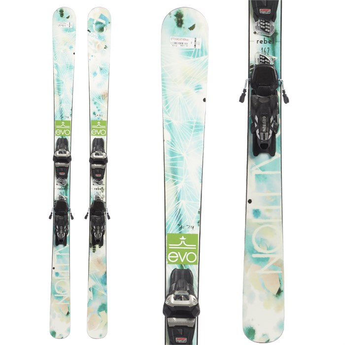 Coalition Snow - Rebel Skis + Marker Griffon Demo Bindings - Women's 2019 - Used
