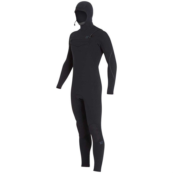 Billabong - 4/3 Furnace Carbon Hooded Chest Zip Wetsuit