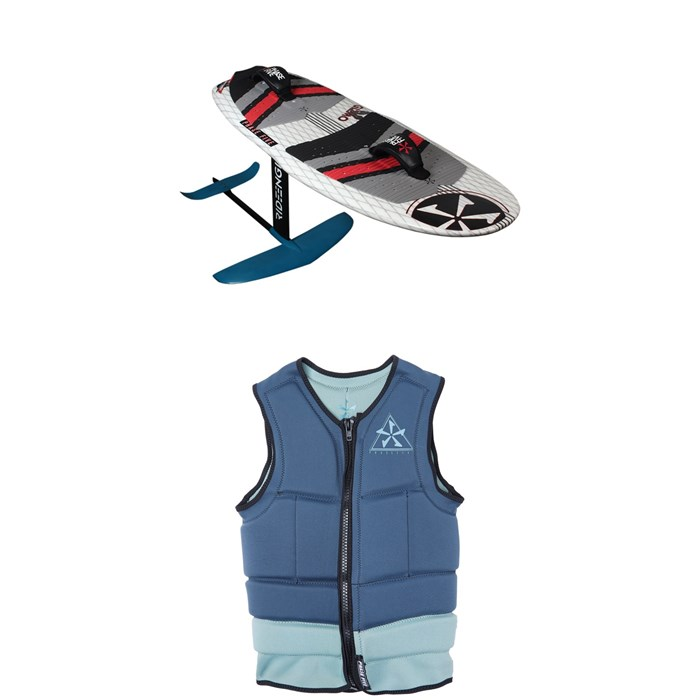 Phase Five - Gizmo Wakefoil Package + Mens Comp Wakesurf Vest 2019