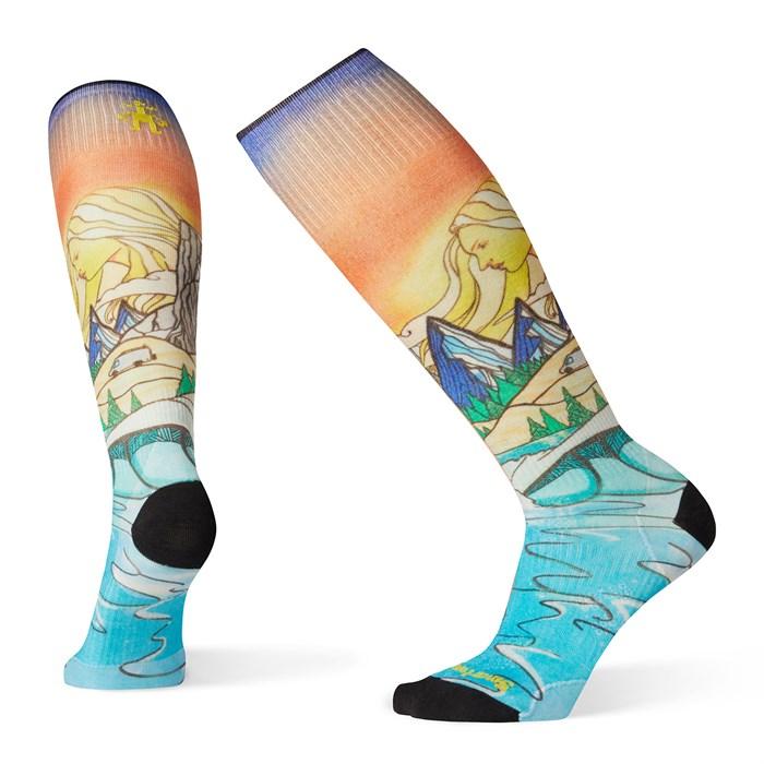 Smartwool - PhD® Ski Ultra Light Lifecycle Print Socks - Women's