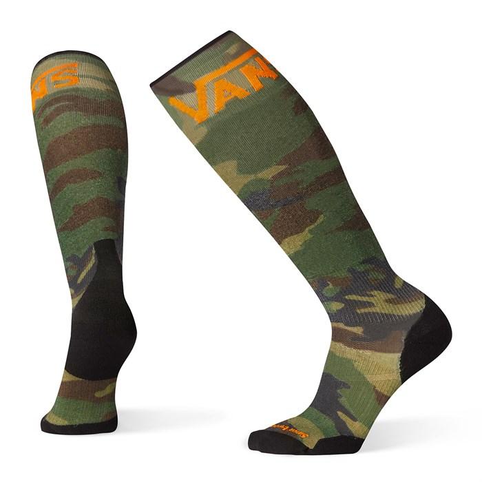 Smartwool - PhD® Snow VANS Woodland Camo Print Light Elite Socks
