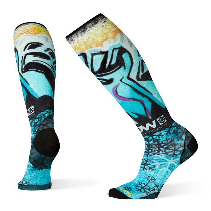 Smartwool - PhD® Snow Protect Our Winters Ultra Light Print Socks