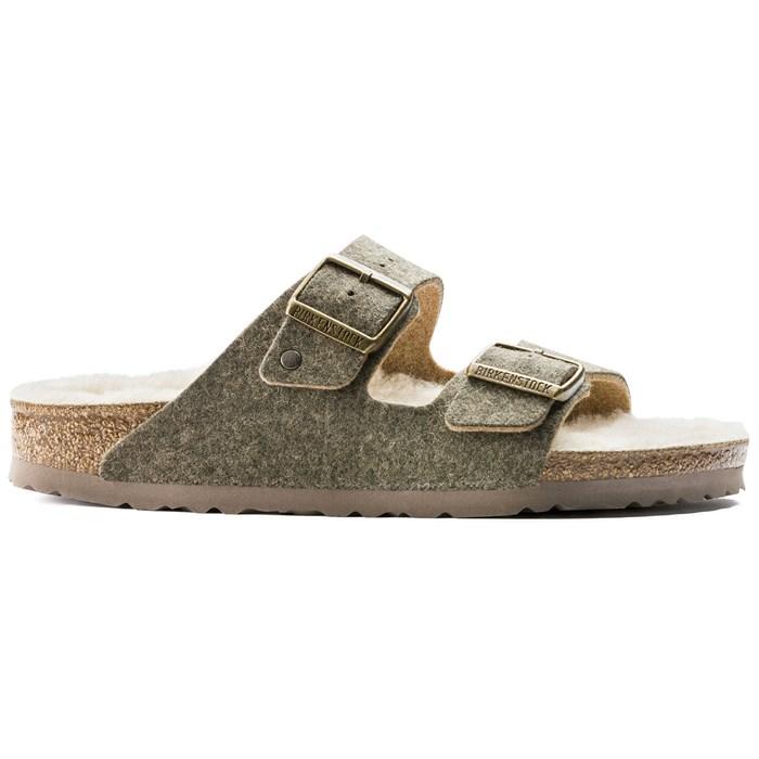 Birkenstock - Arizona Happy Lamb Sandals - Women's