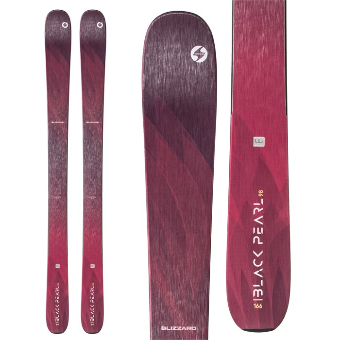 Blizzard - Black Pearl 98 Skis - Women's 2020