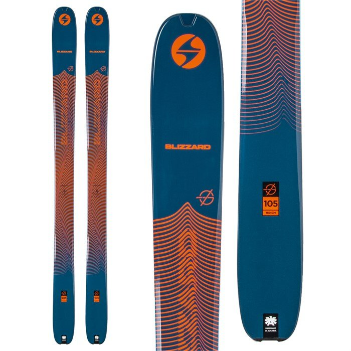 Blizzard - Zero G 105 Skis 2021 - Used