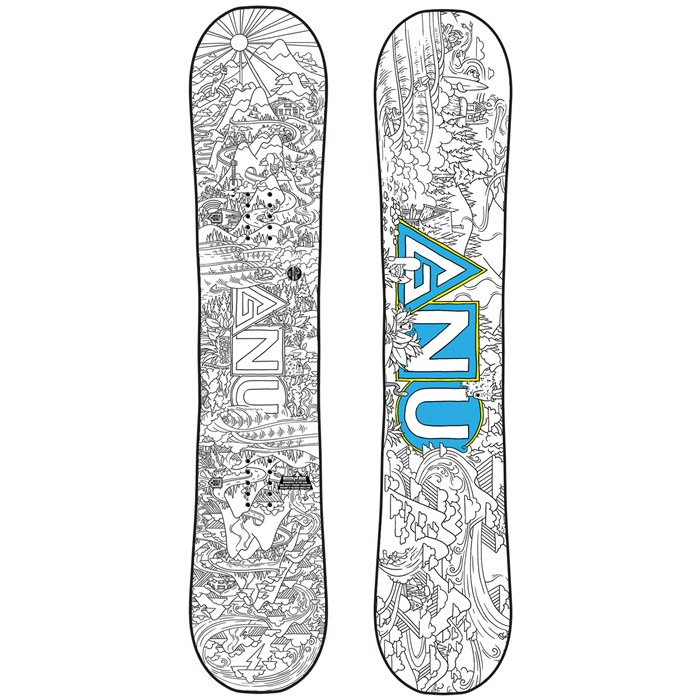 GNU - Recess Asym BTX Snowboard - Big Kids' 2020