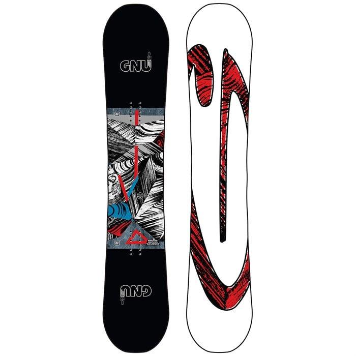 GNU - Carbon Credit Asym BTX Snowboard 2020 - Used