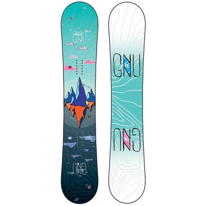 GNU - Asym Velvet C2 Snowboard - Women's 2020