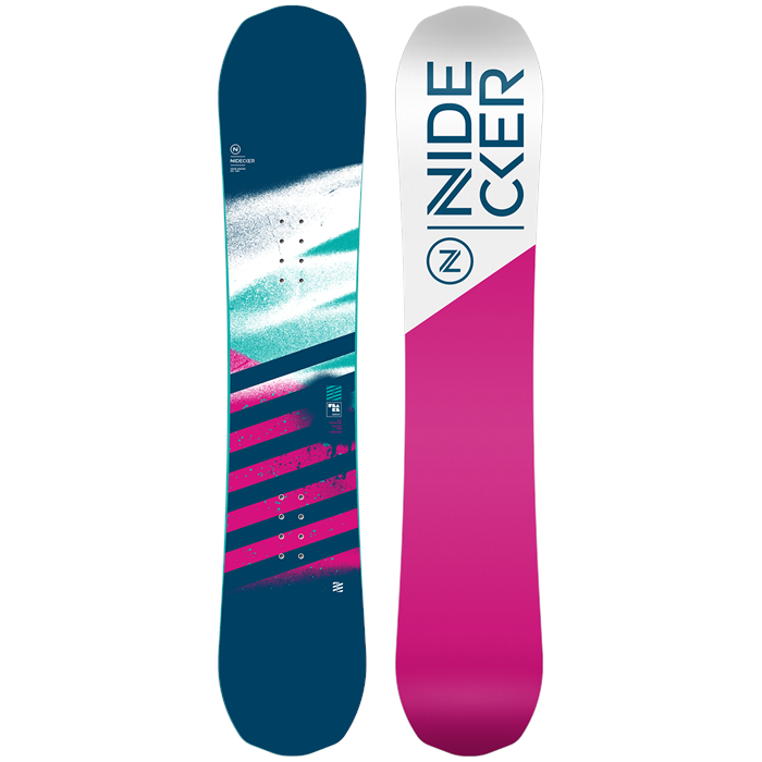 Nidecker - Flake Snowboard - Big Girls' 2020