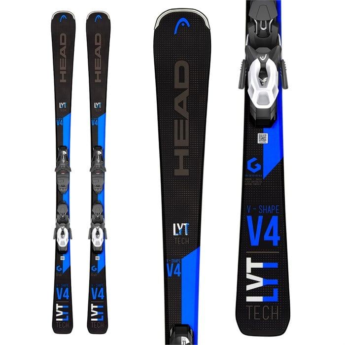 Head - V-Shape V4 Skis + PR 10 GW Promo Bindings 2020