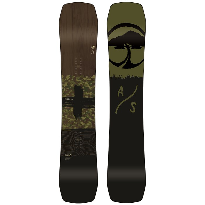 Arbor - Westmark Camber Frank April Snowboard 2020
