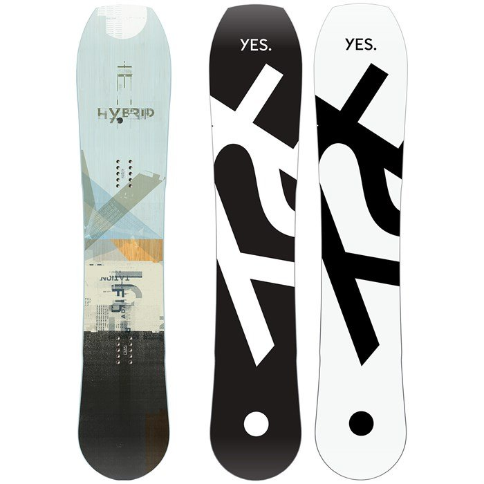 Yes. - Hybrid Snowboard 2020 - Used