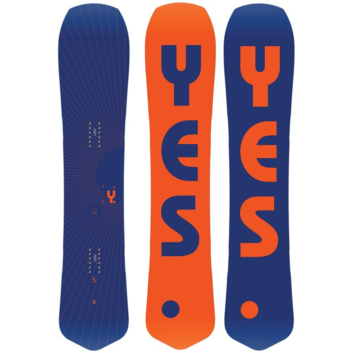 Yes. - The Y. Snowboard 2020