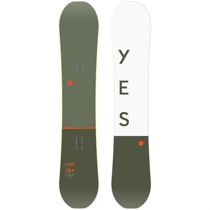 Yes. - Libre Snowboard 2020
