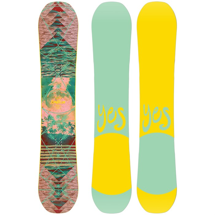Yes. - Emoticon Snowboard - Women's 2020