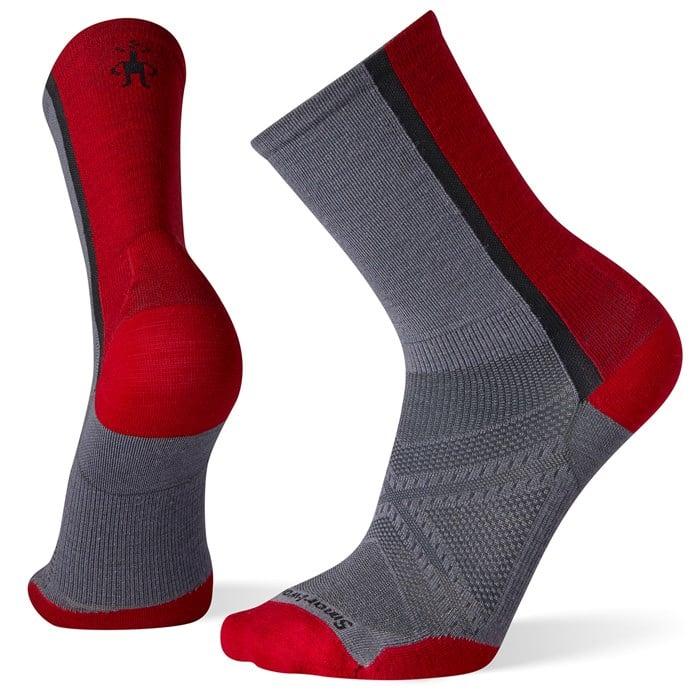 Smartwool - PhD® Cycle Ultra Light Pattern Crew Socks