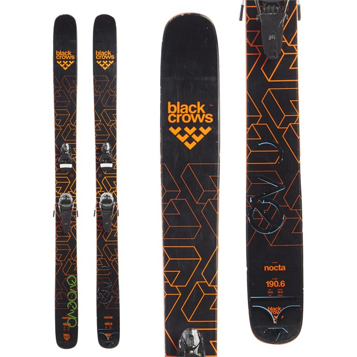 Black Crows Nocta Skis + Look Pivot 14 Dual WTR Bindings