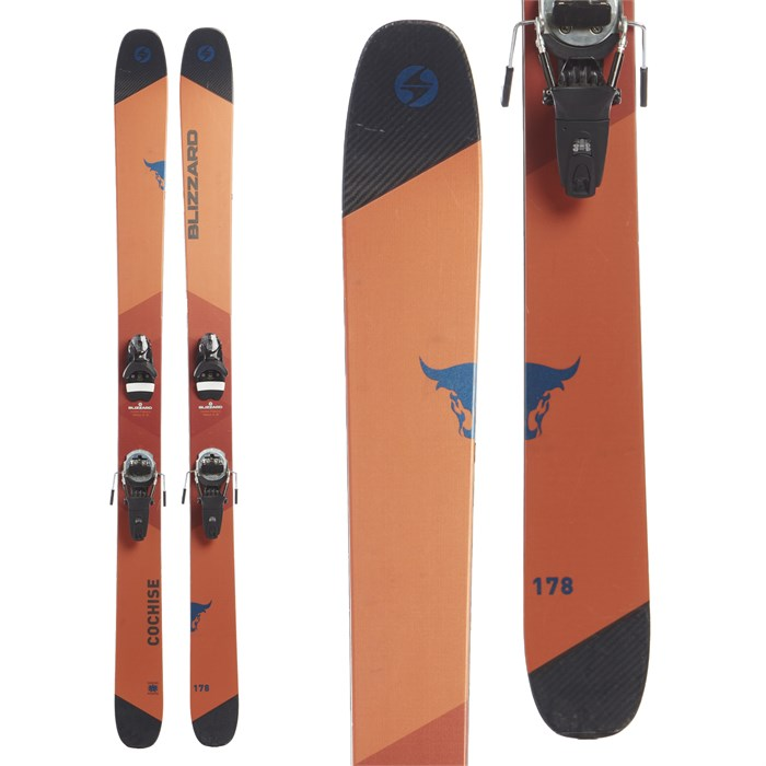 Blizzard Cochise Skis + Look Pivot 12 Dual WTR Bindings