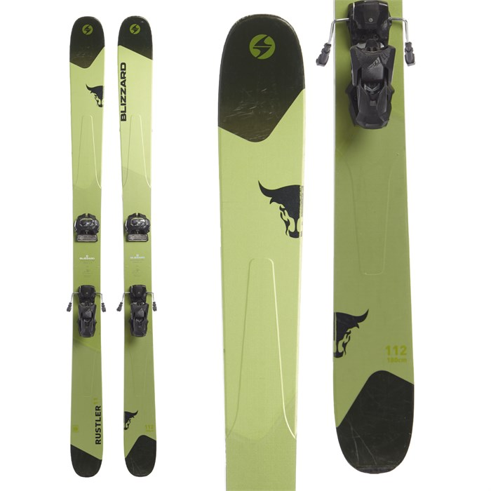 Blizzard Rustler 11 Skis + Tyrolia Attack² 13 GW Bindings