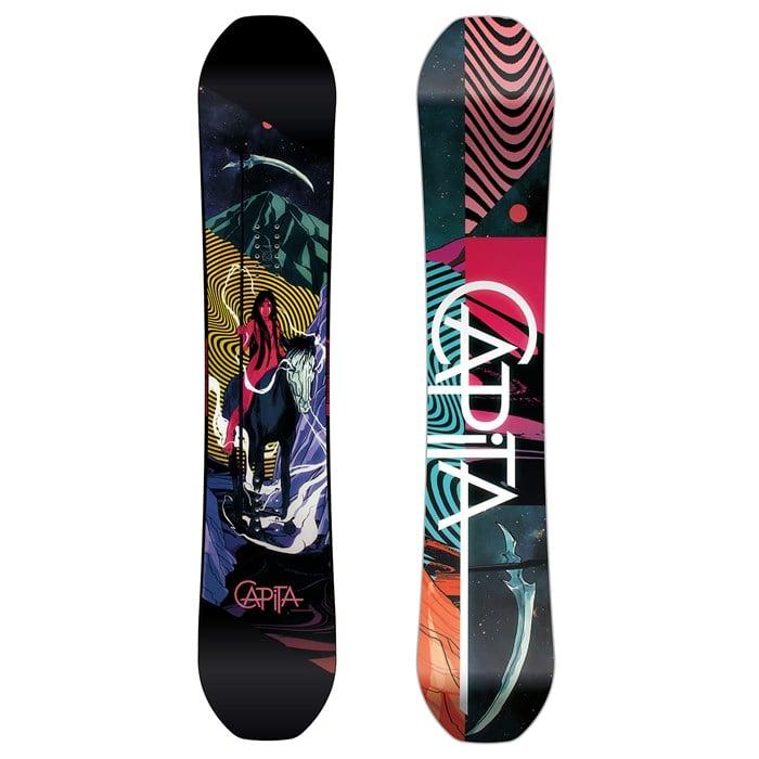 Dual Survival New Season 2020 CAPiTA Indoor Survival Snowboard 2020 | evo