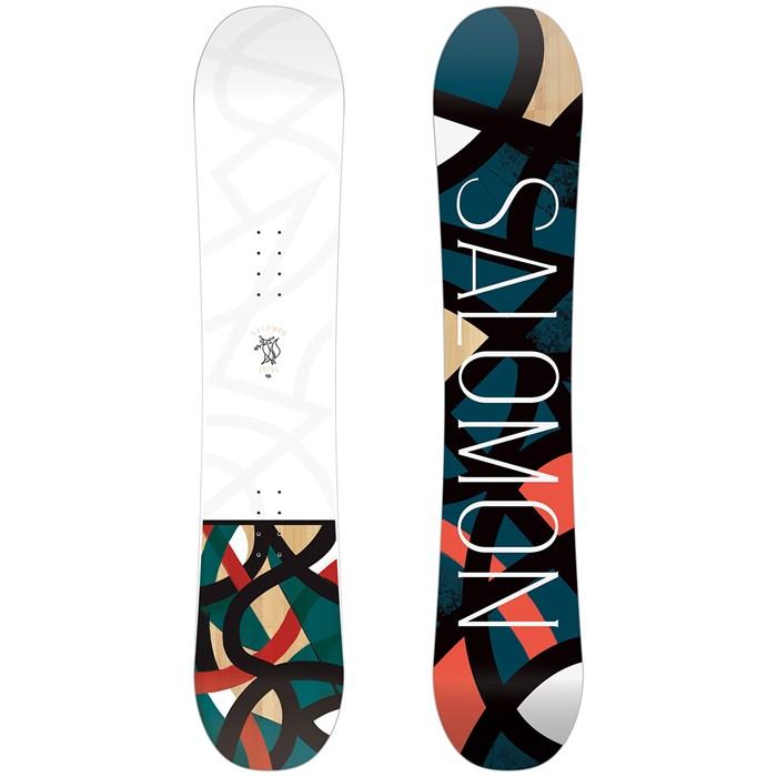 Salomon Lotus 151cm Snowboard für Damen Weiß