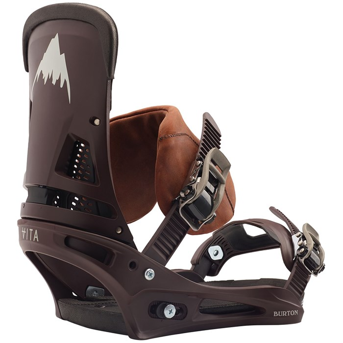Burton - Malavita Leather Snowboard Bindings 2020