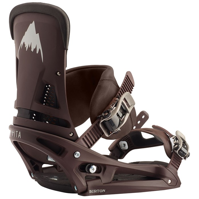 Burton - Malavita EST Leather Snowboard Bindings 2020