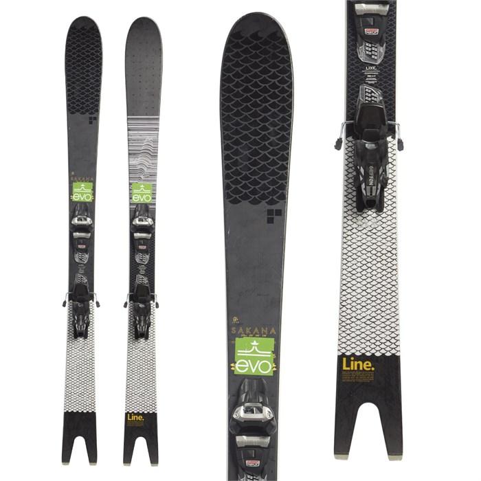 Line Skis - Line Sakana Skis + Marker Griffon 13 Demo Bindings 2019 - Used