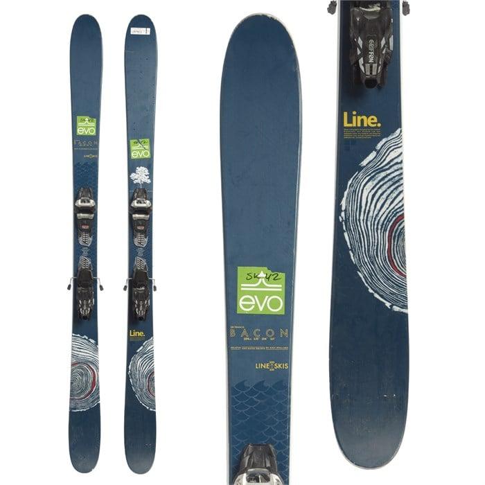 Line Sir Francis Bacon Skis + Marker Griffon 13 Demo